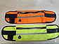 Спортивная сумка для телефона на пояс для бега. Бананка с креплением для бутылки. Сумка для спорта, фото 9