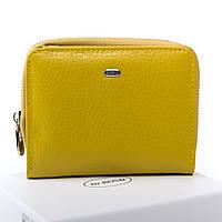 Гаманець Classic шкіра DR. BOND WN-4 yellow.Купити жіночий шкіряний гаманець оптом і в роздріб в Україні., фото 1