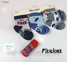 Шкарпетки для новонароджених з гальмами TM Pier Lone р.6-12 міс.