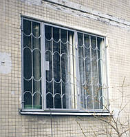 Покрасить решетки на окнах