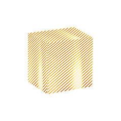Папір пакувальна PPW PAPER Lesko PZ010 Смуга подарункова 50*70 см