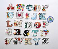 Обучающие магниты буквы Английские
