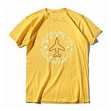 "Футболка авиационная ""Компас"" Цвет: yellow"