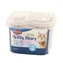 Ласощі для котів TRIXIE - Kitty Stars лосось+ягня 140гр