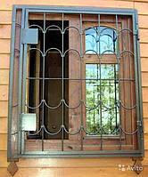 Решетки раздвижные на окна дачи
