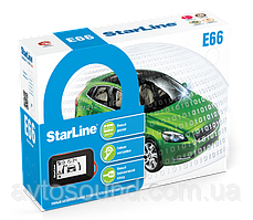 Автосигнализация StarLine E66 BT ECO 2CAN-2LIN