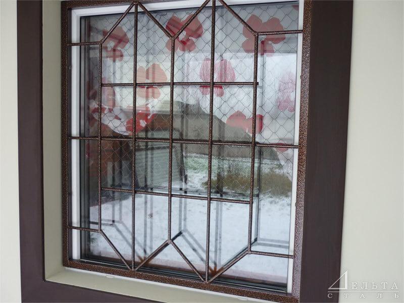 Сдвижные решетки на окна