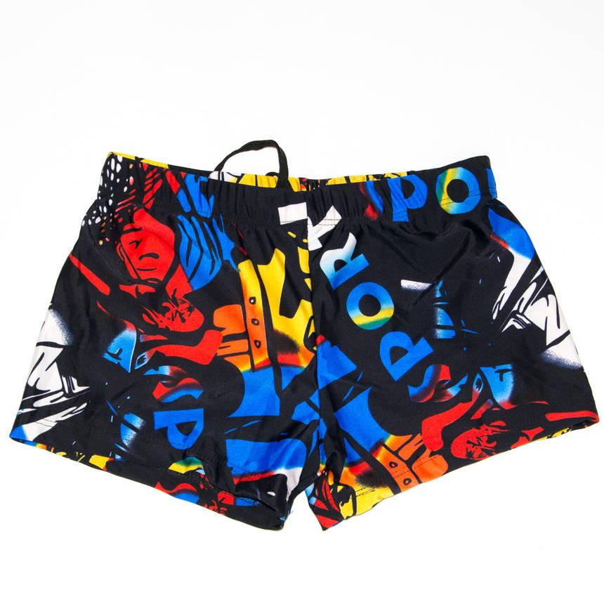 Чоловічі боксери для купання з кольоровим принтом (арт. 18-4), фото 2