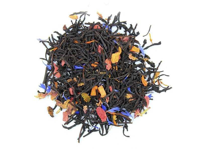 Чай Teahouse (Тиахаус) Персиковое фламбе 250 г (Tea Teahouse Peach flambe 250 g)