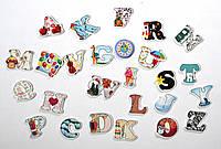 Английские буквы. Настенная декорация
