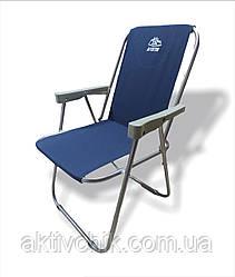 """Крісло """"Фідель"""" синій. код 061"""