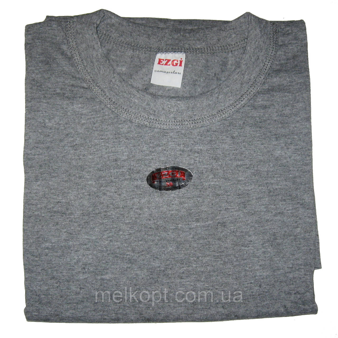 Чоловічі футболки Ezgi - 59,00 грн./шт. (60-й розмір, сірі)