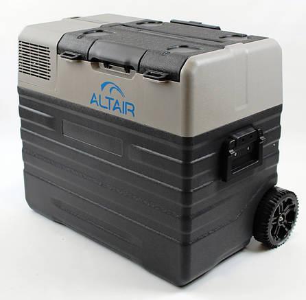 Автохолодильник компрессорный, автоморозильник Altair NX52 (52 литра). До -20 °С. 12/24/220V, фото 2