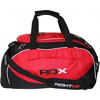 Мужская сумка-рюкзак из нейлона с усиленной ручкой RDX красный