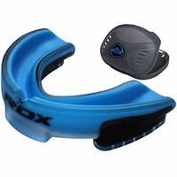Капа боксерская RDX Gel 3D Elite голубой