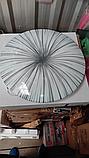 Накладной светодиодный светильник люстра LED 36W 4000K  25395-04 Промінь d395 36W серый, фото 3