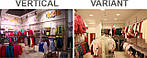 Система торгового оборудования Variant и система на основе профиля Vertical. Сравнительный тест-драйв.