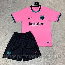 Футбольная форма Барселона резервная 2020-2021 (Футболка+шорты), фото 3