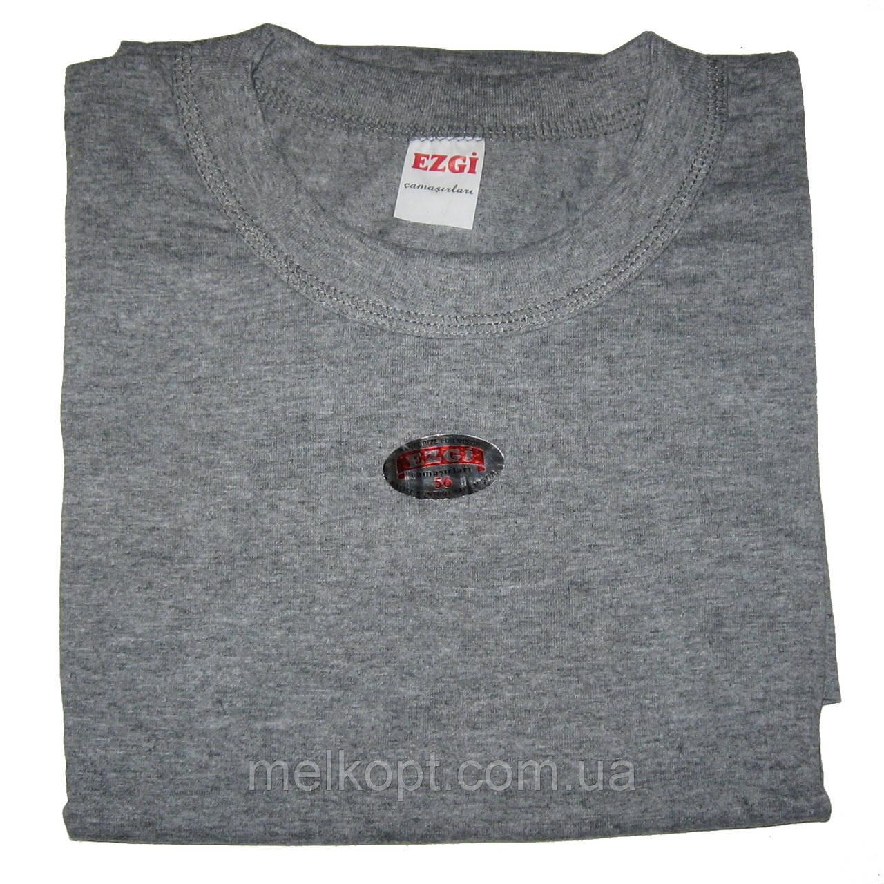 Чоловічі футболки Ezgi - 63,00 грн./шт. (66-й розмір, сірі)