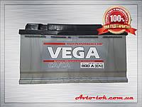 Аккумулятор Vega 6CT-100-0 100Ah/800A R+ 0 (ВЕГА) WESTA (ВЕСТА) Автомобильный АКБ Кислотный Украина НДС