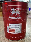 Масло моторное Wolver Super Dynamic 10W-40 API SJ/SL/CF (17,6 кг/20л)