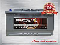 Аккумулятор PRESIDENT 6CT-100-0 100Ah/850A R+ (Президент) Aco Group Автомобильный АКБ Кислотный Турция НДC