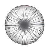 Накладной светодиодный светильник люстра LED 36W 4000K  25395-04 Промінь d395 36W серый, фото 4