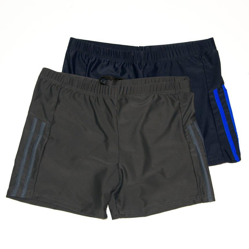 Оптом мужские боксеры для купания 50-58р арт. 14-152 Синий, 50, фото 2
