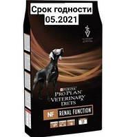 PURINA Pro Plan Veterinary Diets NF Renal Function корм Пурина Про План для собак с патологией почек 3кг