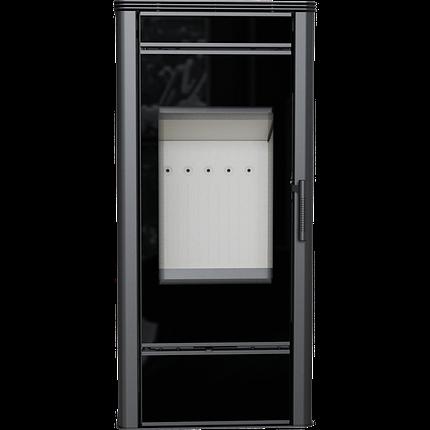 Стальная печь-камин Kratki KOZA TITAN GLASS (10-14 кВт) печи чугунные отопительные для дома и дачи, фото 2