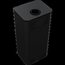 Сталева камінна топка Kratki KOZA TITAN GLASS (10-14 кВт) печі чавунні опалювальні для дому та дачі, фото 2