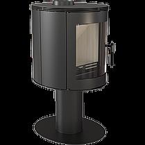 Стальная печь-камин Kratki KOZA ORBIT (3-8 кВт) печи стальная отопительные для дома и дачи, фото 2