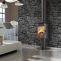 Стальная печь-камин Kratki KOZA ORBIT (3-8 кВт) печи стальная отопительные для дома и дачи, фото 3