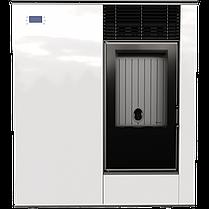 Пелетні піч Kratki VIKING 8 панель білий печі чавунні опалювальні для дому та дачі, фото 2