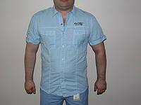 Мужская рубашка Glo-story хлопок