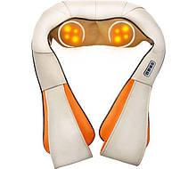 Массажер роликовый для шеи, плеч и спины Massager of Neck Kneading с прогревом и пультом, шиацу
