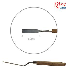 Мастихін ROSA Studio 11908 прямокутний, довжина 6,5см, ст.код1021