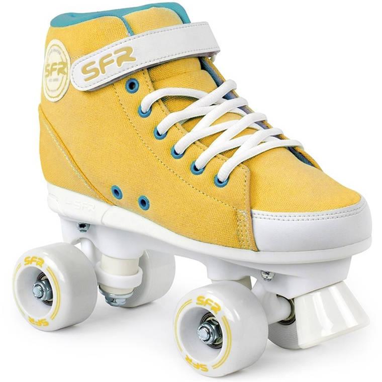 Дитячі роликові ковзани SFR Sneaker 33 mustard, фото 2