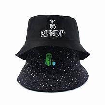 Панама Bucket Hat Ripndip Alien Інопланетянин Двостороння Чорна, фото 3