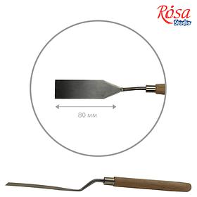 Мастихін ROSA Studio 11919 прямокутний, довжина 8см, ст.код1007