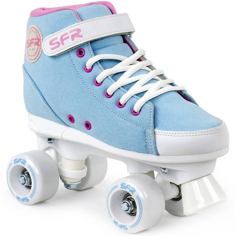 Дитячі роликові ковзани SFR Sneaker 34 sky blue, фото 2