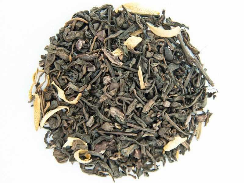 Чай Teahouse Тиахаус с шоколадом 250 г Tea Teahouse with chocolate 250 g