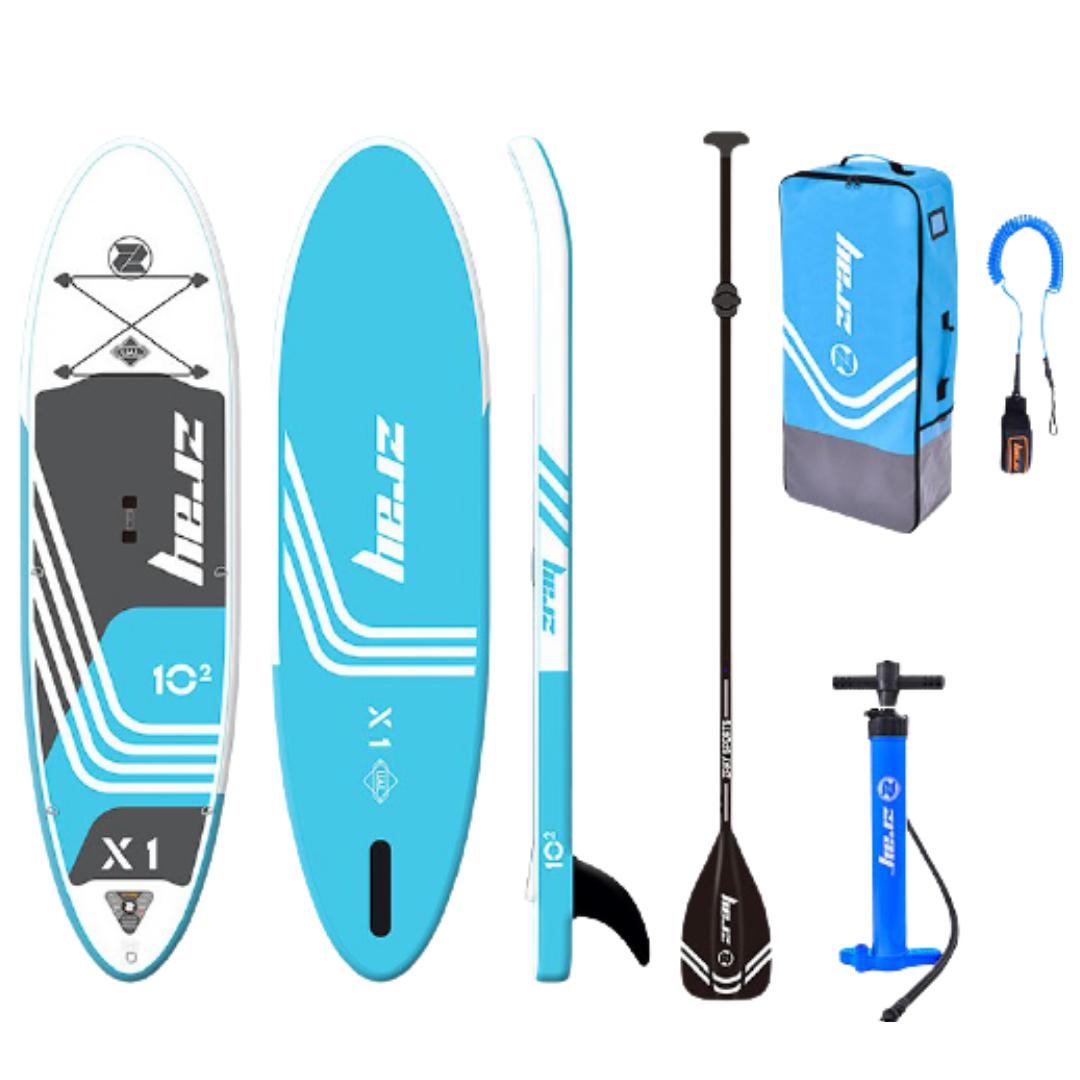 Сапборд ZRAY X-RIDER X1 10'2 - надувная доска для САП сёрфинга, sup board