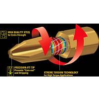 Торсіонна біта PH2 Impact GOLD Enduro Makita 5 шт (B-28519)