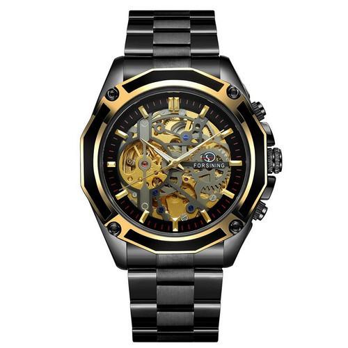 Forsining 8130 Black-Gold-Black