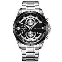 Curren 8360 Silver-Black, фото 1
