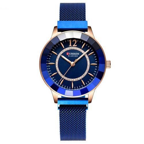 Curren 9066 Blue-Cuprum