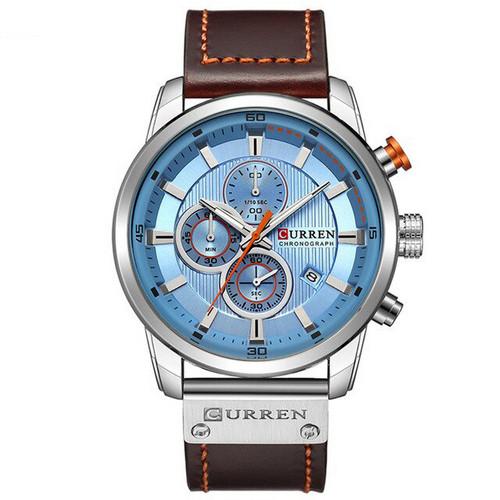 Curren 8291 Silver-Blue