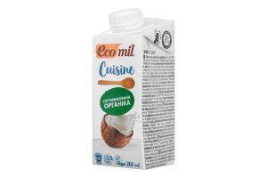 Вершки кокосові 200мл ТМ Eco Mil