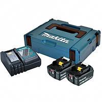 Набор аккумуляторов LXT (BL1860Bx2, DC18RC, Makpac) (198116-4)